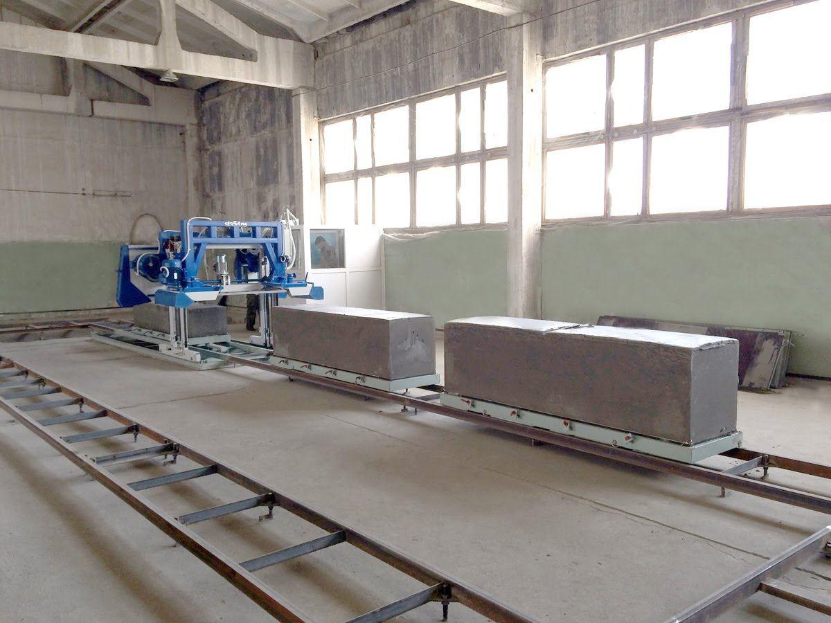 оборудование для пенобетонных блоков